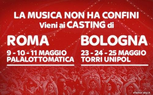 X Factor 2015, al via i casting a Roma e Bologna: ecco le novità sui Gruppi