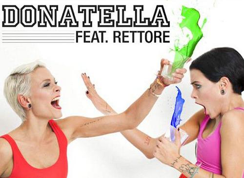 Le Donatella e la cover Donatella con Rettore prodotto da Tommy Vee dall'8 maggio in digital store