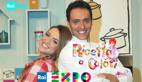 Ricette a Colori, il nuovo programma di Rai Gulp con le Winx da oggi 2 maggio in occasione di Expo 2015