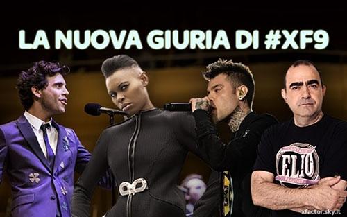 X Factor 9 anticipazioni: Fedez, Mika, Elio e Skin nuovi giudici, fuori Morgan e Victoria Cabello