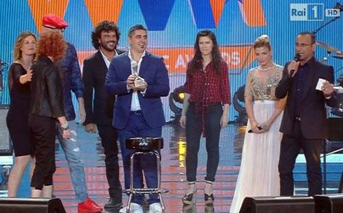 Ascolti Tv, 4 giugno: Wind Music Awards 2015 a 4,8 mln; Le Tre Rose di Eva 3 a 3,4 mln