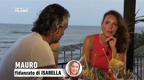 Anticipazioni Temptation Island 2015, quarta puntata del 14 luglio: rottura definitiva tra Mauro e Isabella?
