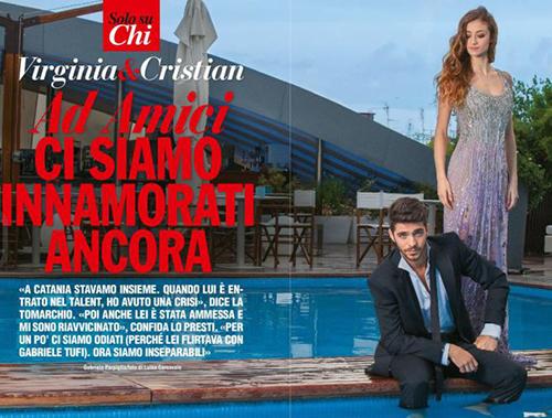Amici 14: dopo il talent Virginia Tomarchio e Cristian Lo Presti si amano più di prima, le dichiarazioni