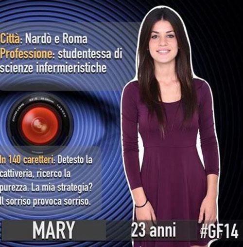 Grande Fratello 2015: Mary Falconieri, ecco chi è la prima concorrente ufficiale – FOTO