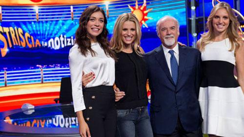 Anticipazioni Striscia la Notizia, stasera 21 settembre: Michelle Hunziker e Maria De Filippi alla conduzione
