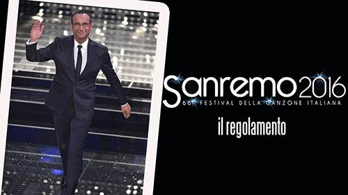 Sanremo 2016: reso noto il Regolamento ufficiale, ecco i numeri di Sanremo Giovani