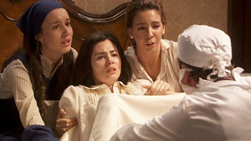 Anticipazioni Il Segreto, puntata serale 11 ottobre: il parto di Maria, replica streaming