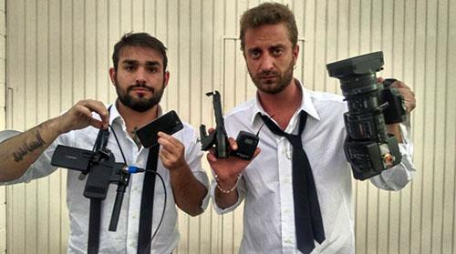 Le Iene: aggressione in casa di Marc Marquez per Stefano Corti e Alessandro Onnis