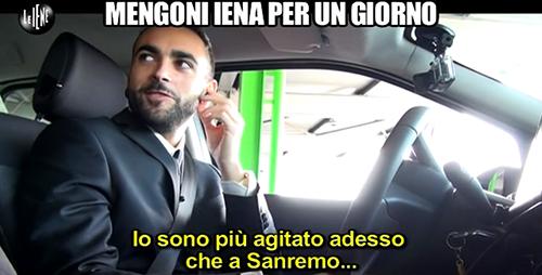 Le Iene, Marco Mengoni e la gaffe di Ilary Blasi: lo ascolta in radio e lo scambia per Valerio Scanu – VIDEO