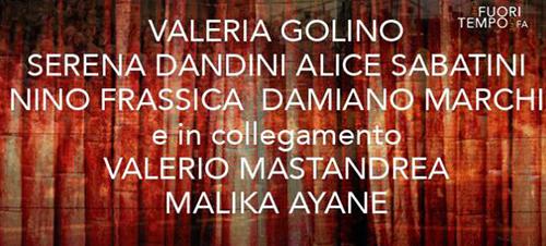 Anticipazioni Che fuori tempo che fa del 3 ottobre: Valeria Golino, Malika Ayane e Serena Dandini tra gli ospiti