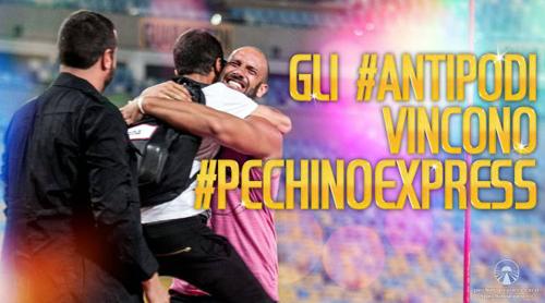Pechino Express 2015: vincono gli #Antipodi – Andrea Pinna e Roberto Bertolini, ecco il video