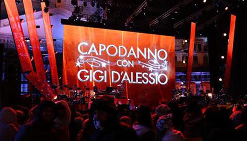 Capodanno 2016 in Tv: il concerto di Gigi d'Alessio da Bari in diretta su Canale 5