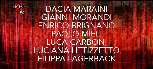 Anticipazioni Che tempo che fa dell'1 novembre: Gianni Morandi e Luca Carboni tra gli ospiti, info streaming