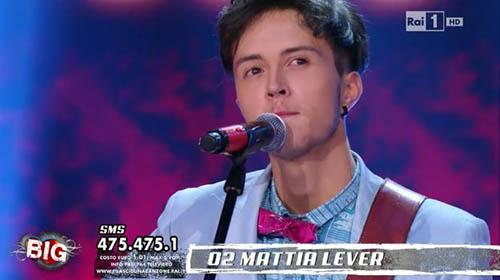 Ti lascio una canzone – Big: Mattia Lever vincitore, pubblicherà un CD