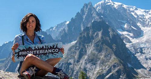 """Monte Bianco, dal 9 novembre con Caterina Balivo: """"Non ho voluto essere una conduttrice passiva"""""""