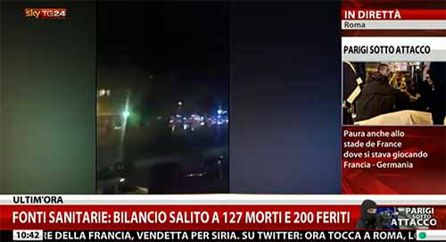 Attentati Parigi: ecco come cambia la programmazione tv di oggi 14 novembre 2015 – In aggiornamento