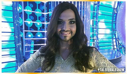 Tale e Quale Show: Valerio Scanu vince la puntata imitando Conchita Wurst – VIDEO