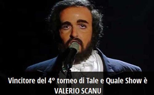 Tale e Quale Show: Valerio Scanu vince e dimostra ancora una volta il suo strepitoso talento – VIDEO