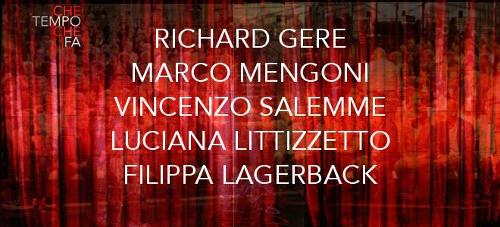 Che tempo che fa, anticipazioni 13 dicembre: Richard Gere e Marco Mengoni ospiti, info streaming