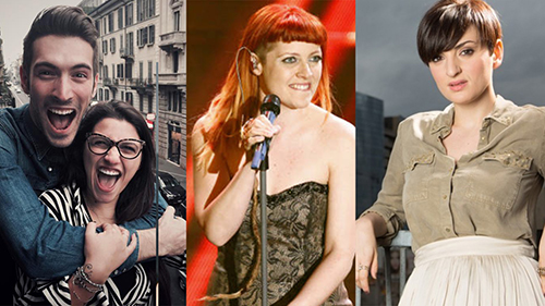 Sanremo 2016, le reazioni dei Big: Deborah Iurato e Giovanni Caccamo, Noemi e Arisa