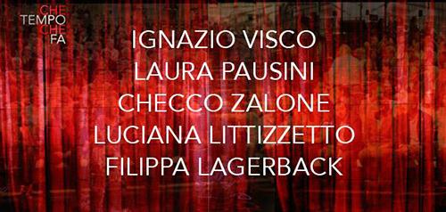 Anticipazioni Che tempo che fa del 20 dicembre: Laura Pausini e Checco Zalone tra gli ospiti, info streaming