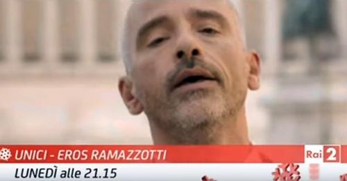 Unici – Eros Ramazzotti, stasera su RaiDue con la partecipazione di Chiara Galiazzo, Antonacci e altri
