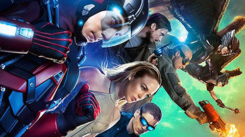Serie Tv, Legends of Tomorrow in arrivo dal 21 gennaio: eroi e villain da Arrow e The Flash