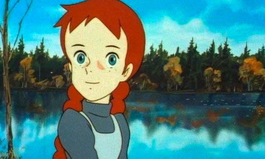 Anna dai capelli rossi dal cartoon anni alla serie tv
