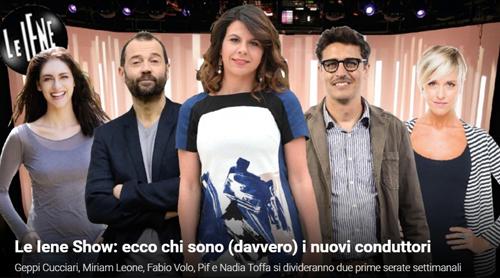 Le Iene Show, anticipazioni 2016: ecco i conduttori ufficiali dei due appuntamenti settimanali