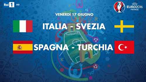 Euro 2016 in Tv, tutte le partite di oggi 17 giugno: Italia-Svezia alle 15:00, diretta Rai, Sky e streaming
