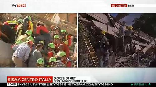 Terremoto in diretta tv: tutti gli speciali sulle all news, da Rai News 24 a Sky Tg24
