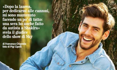 """Alvaro Soler, X Factor 10: """"Non definitemi bello!"""", le dichiarazioni e l'incontro con Shakira"""