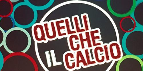 Quelli che il calcio, anticipazioni puntata 22 gennaio 2017: ospiti Samuele Bersani, Totò Schillaci e Jake La Furia