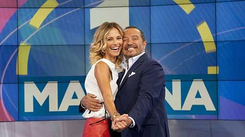 Uno Mattina, al via da oggi 5 settembre la nuova stagione con Francesca Fialdini e Franco di Mare verso i 30 anni