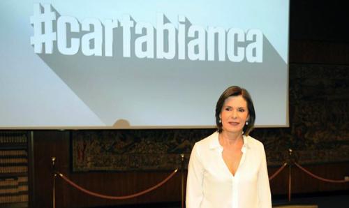 #CartaBianca, anticipazioni prima puntata 7 novembre: torna su Rai3 Bianca Berlinguer, tutte le info utili