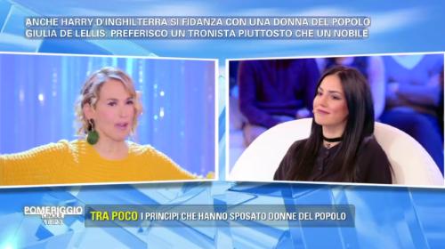 """Pomeriggio 5, Giulia De Lellis e le nozze con Andrea Damante: """"Matrimonio a maggio"""""""