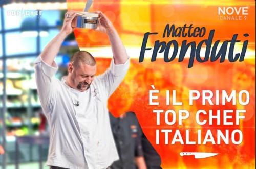 Top Chef Italia, Matteo Fronduti è il vincitore della prima edizione, Matteo Torretta secondo, Maria Anedda terza