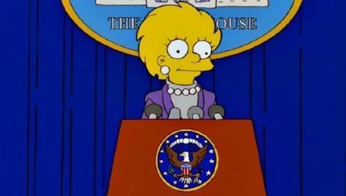 I Simpson lanciano una puntata sulle elezioni USA