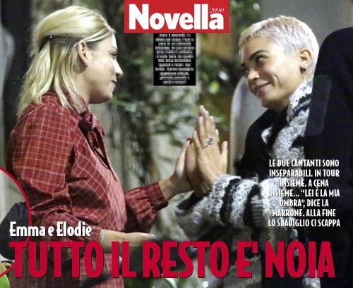 Emma Marrone ed Elodie inseparabili: sotto lo stesso tetto in vista di Sanremo 2017?