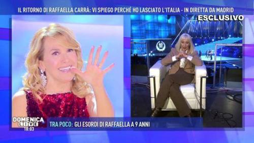 Raffaella Carrà, annuncio shock a Domenica Live: l'addio alla TV e le lacrime di commozione – VIDEO