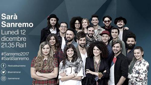 Sarà Sanremo, anticipazioni 12 dicembre 2016: presentazione di BIG e Nuove Proposte del Festival 2017