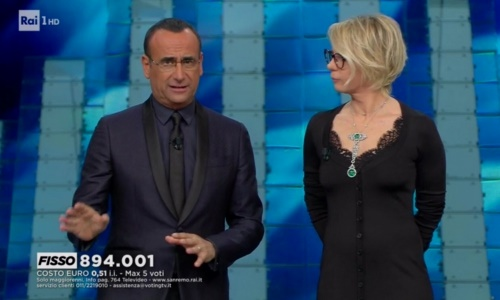 Ascolti Tv, 8 febbraio 2017: ancora boom per Sanremo, tutti i dati Auditel, da Chi l'ha visto ai film in prima serata