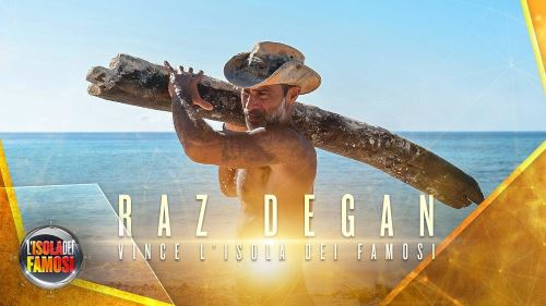 Isola dei Famosi 2017: Raz Degan vincitore indiscusso, finale senza grosse sorprese