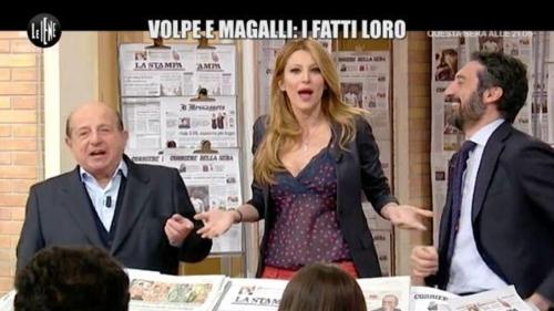 Giancarlo Magalli e Adriana Volpe: le scuse del conduttore in diretta tv, la collega le accetta ma con riserva