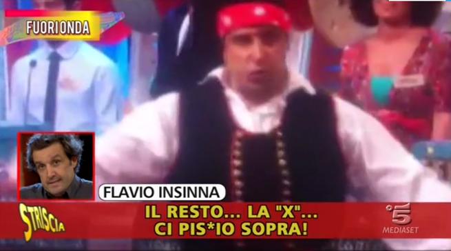 Flavio Insinna: dopo le accuse di Striscia la Notizia si sfoga su Facebook e chiede scusa, ecco le sue parole