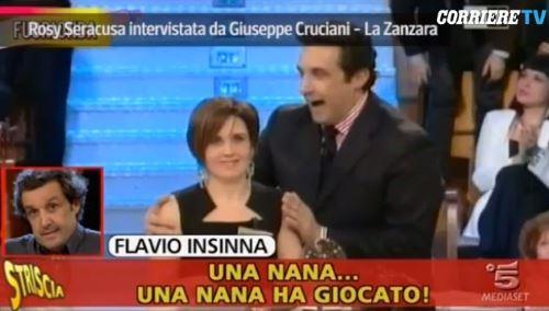 Flavio Insinna, bufera dopo il fuori onda shock a Striscia La Notizia: parla la concorrente offesa – VIDEO
