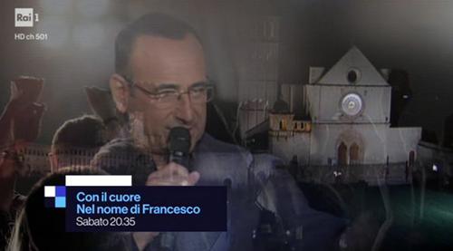 Con il cuore, nel nome di Francesco anticipazioni 10 giugno: tutti ospiti e come donare, info streaming