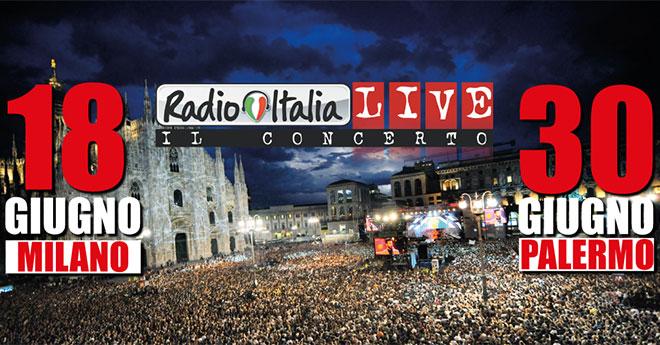 Radio Italia Live – Il concerto: anticipazioni e ospiti oggi, 18 giugno con la prima data a Milano, tutte le info