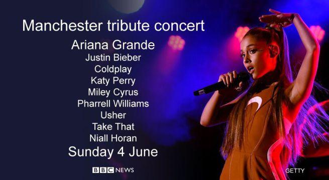 One Love Manchester, 4 giugno: il concerto di Ariana Grande contro il terrorismo, ospiti e info streaming