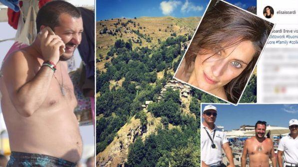 Gossip News: Matteo Salvini ed Elisa Isoardi, nessun tradimento? La coppia ancora insieme ma in vacanza separati
